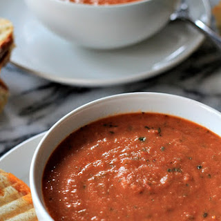 Creamy Tomato Basil Soup With Cream Cheese Recipes