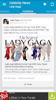 Screenshot of Celebrity News