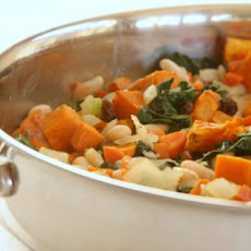 Roasted Squash & White Bean Skillet