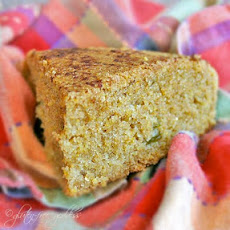 Gluten-Free Cornbread with Green Chiles + Cinnamon