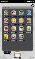 Screenshot of TSF Shell Cyanogen Light HD