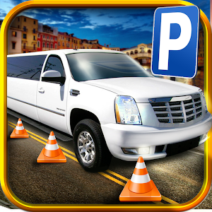 Cover art 3D Limo Parking Simulator Game