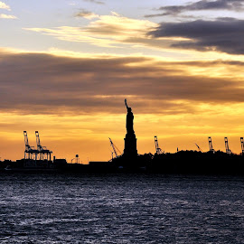 by Dwiyogo A Nugroho - Buildings & Architecture Statues & Monuments ( liberty, ellis, battery park, new york, island )