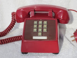 Desk Phones - Western Electric 1500 Red 1