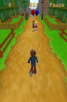 Screenshot of Blue Running Dude