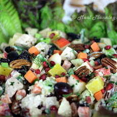 After Thanksgiving Turkey 'n Fruit Salad