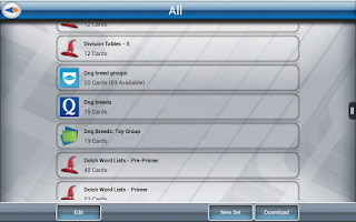 Screenshot of Quizard Flashcards Lite