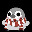 ぺそぎんライブ壁紙「冬」完全版 雪・人気ペンギン待受けアプリ