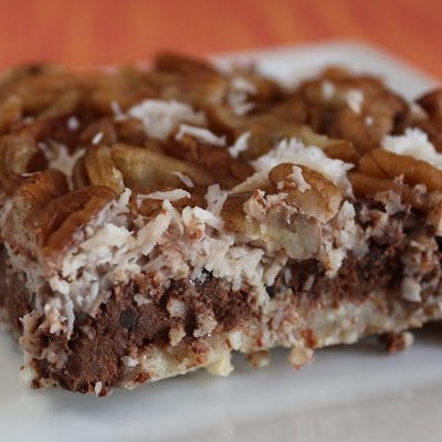 "Healthier Coconut ""Magic Bars"" (Dairy-Free)"