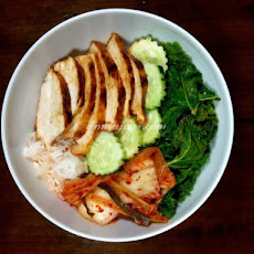 Spicy Korean Grilled Chicken Rice Bowl