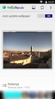 Screenshot of HelloMundo: webcam wallpapers