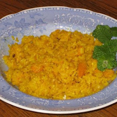 Turmeric Orange Ginger Infused Rice