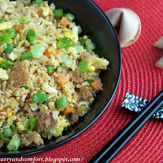Quick Sausage Fried Rice