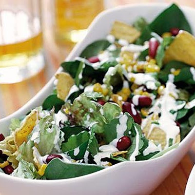 Tortilla & Bean Salad