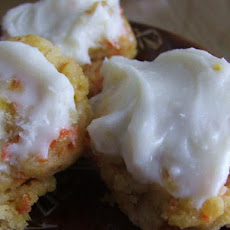 Carrot Cream Cheese Cookies