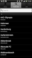 Screenshot of Amateurvoetbal - Free