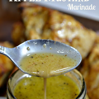 Apple Mustard Marinade