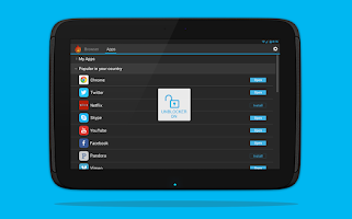 Screenshot of Hola Free VPN