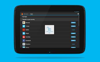 Screenshot of Hola Free VPN