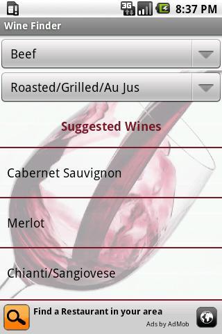 Wine Finder
