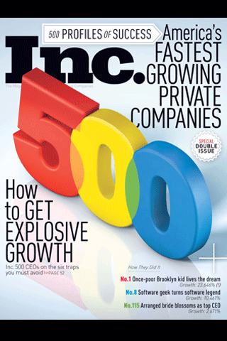 Inc. Magazine Screenshot 1