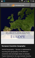 Screenshot of Geography Apps