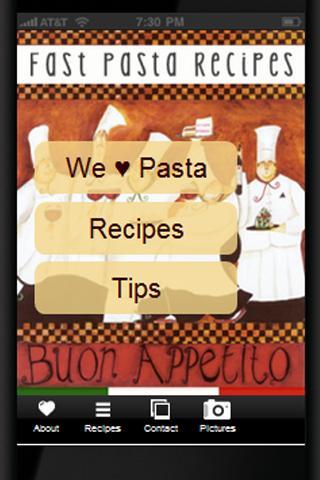 Fast Pasta Recipes