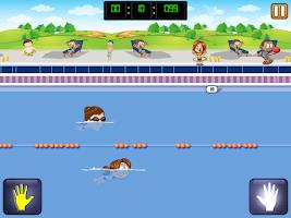 Screenshot of Boring School Swimming Workout