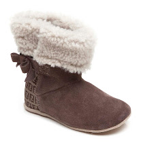 Fendi Sheepskin Pre-Walker Booties PRAM