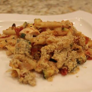 Chicken, Zucchini and Pasta Bake