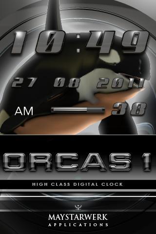 ORCA的1桌面時鐘