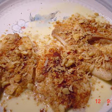Tilapia... White Chocolate Macadamia Crusted Tilapia