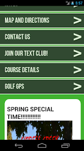 Cypress Creek Golf Club - screenshot