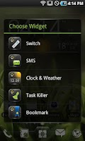 Screenshot of EZ Bookmark Widget