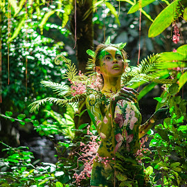 Fairy by Maverick De Castro - People Body Art/Tattoos ( bodypaint candid portrait woman )