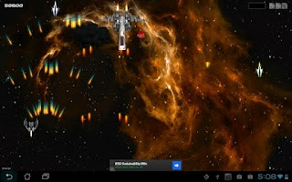 Screenshot of Galaxy Defense War 3D HD