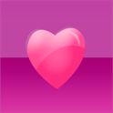 Hot Pink Hearts Keyboard Skin icon
