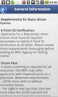 Screenshot of Driver License Test New Jersey