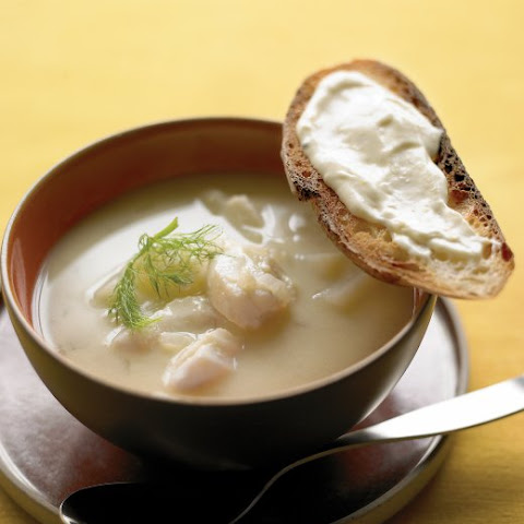 Fish Soup with Lemon Aioli
