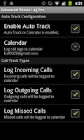 Screenshot of Advanced Phone Log