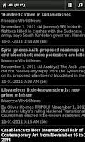 Screenshot of Morocco News