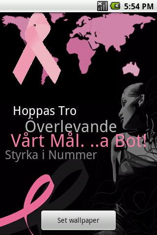 Swedish - Breast Cancer App