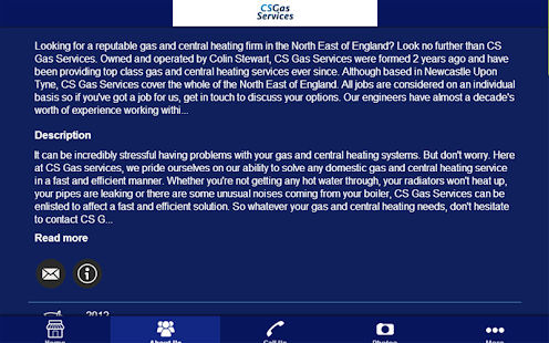 CS Gas Services - screenshot