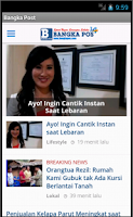 Screenshot of Bangka Post