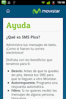 Screenshot of SMS Plus