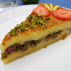 Filled Yogurt Cake With Lemon Ouzo Syrup