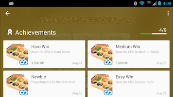 Screenshot of Mancala