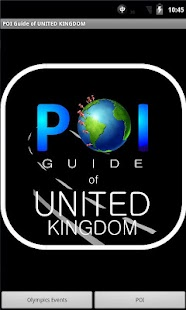 London 2012 Games & POI Guide - screenshot