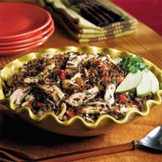 Wild Rice-and-Chicken Bowl