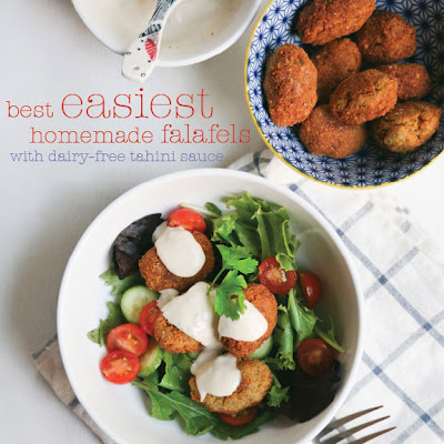 Best Easiest Homemade Falafels